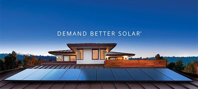 a solar powered house